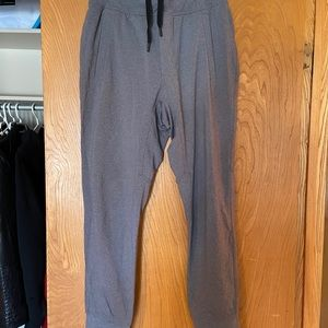 Lululemon grey men's joggers